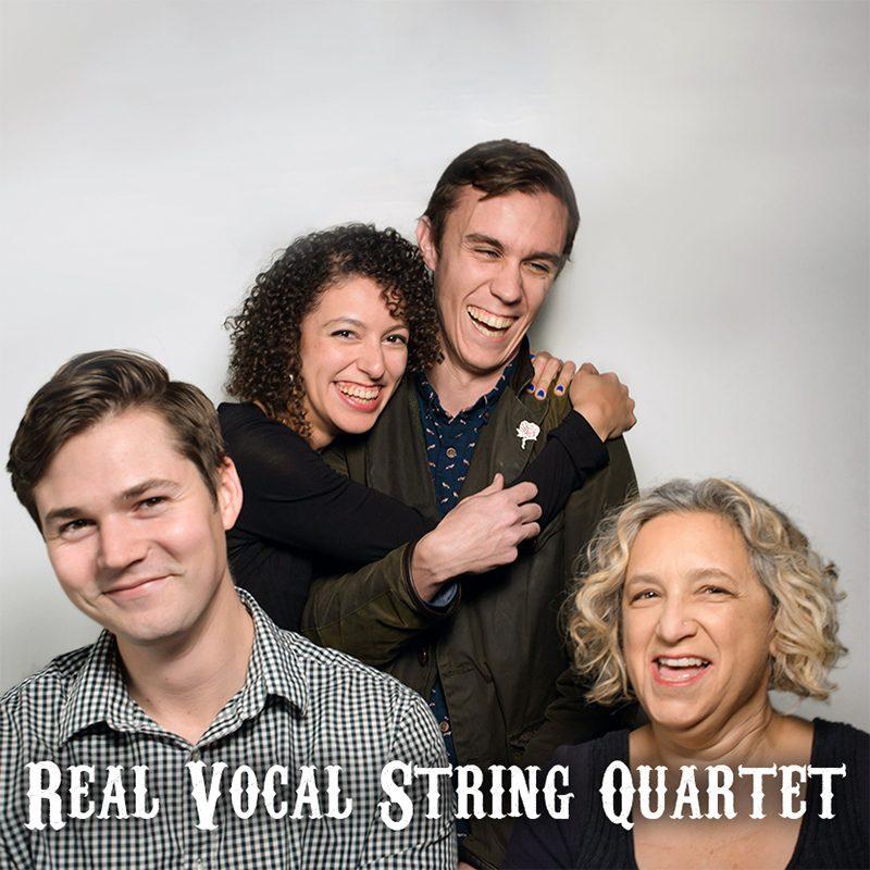 Real Vocal String QuartetSq
